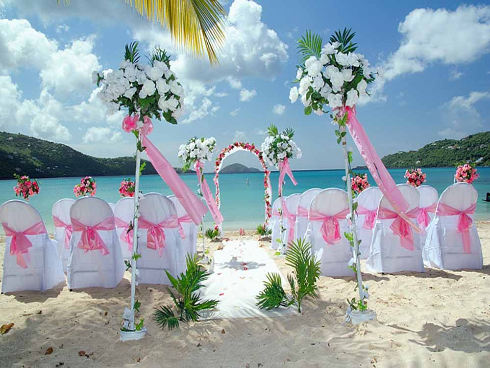 ideas for beach wedding party favors%0A beachweddingdecoration