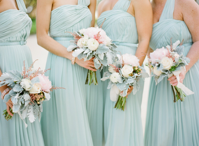Pastel Bridesmaid Dresses - Voltaire Weddings