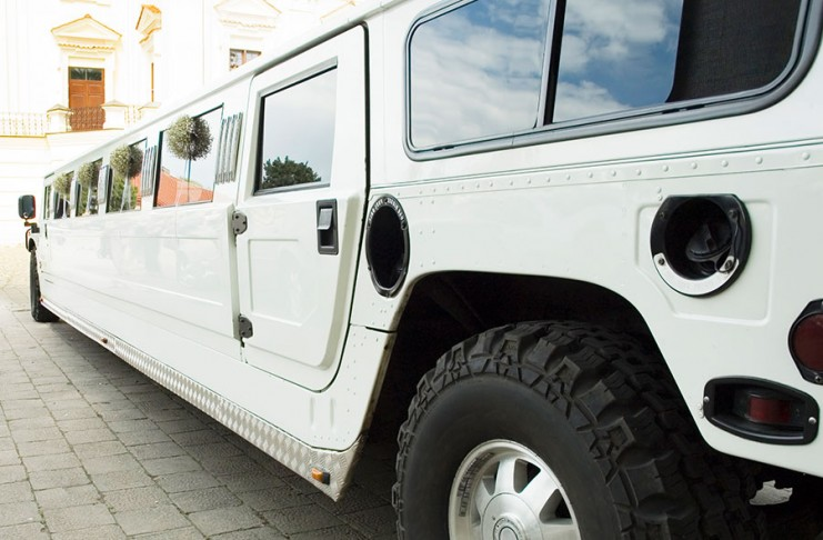 wedding-limo