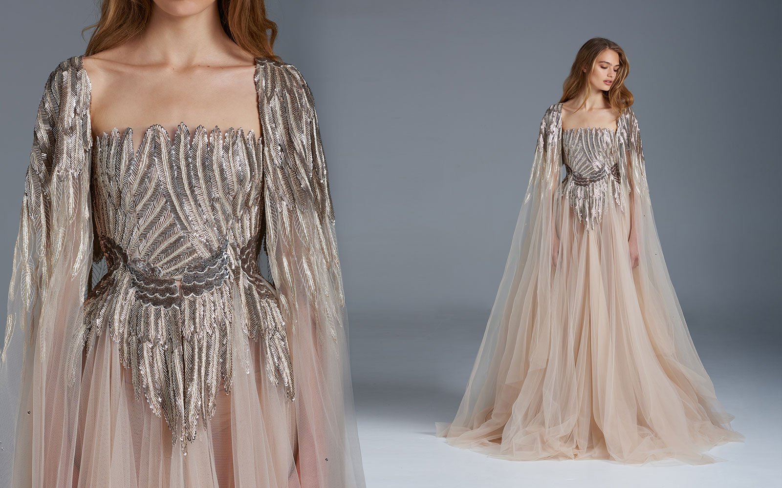 The nightingale paolo sebastian spring summer 2015 2016 for A couture dress