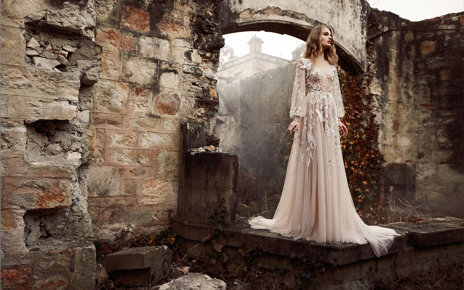 The Nightingale' Paolo Sebastian Spring Summer 2015-2016 Bridal Collection