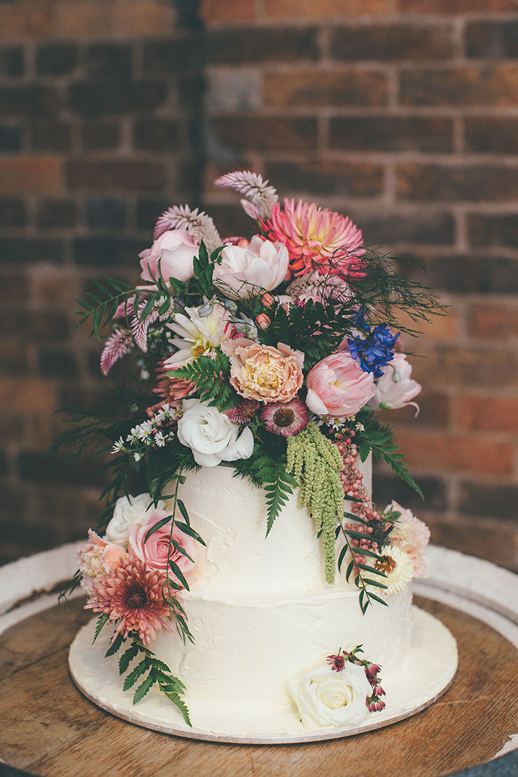 Floral Wedding Cake Topper Ideas