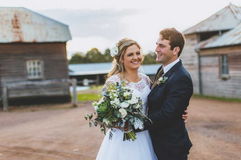 Cassandra & Nathan wedding by Holly Prins